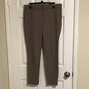 Zara houndstooth trouser